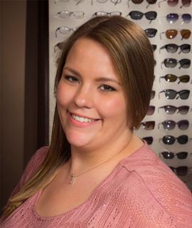 Melissa Asbeck sunglasses contact lenses Billings MT Bauer & Clausen Optometry
