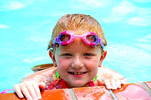 Swim goggles, eye protection, waterborne illness, Billings eye doctors