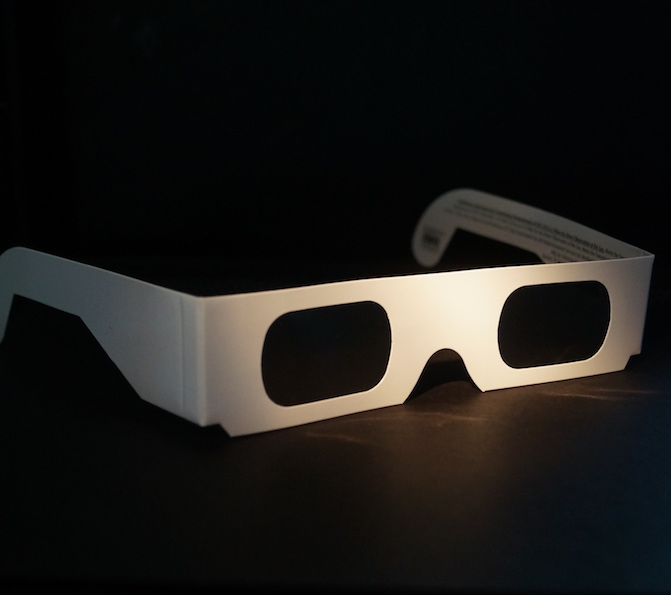 View a solar eclipse safely with the right safety glasses from Bauer & Clausen Optometry