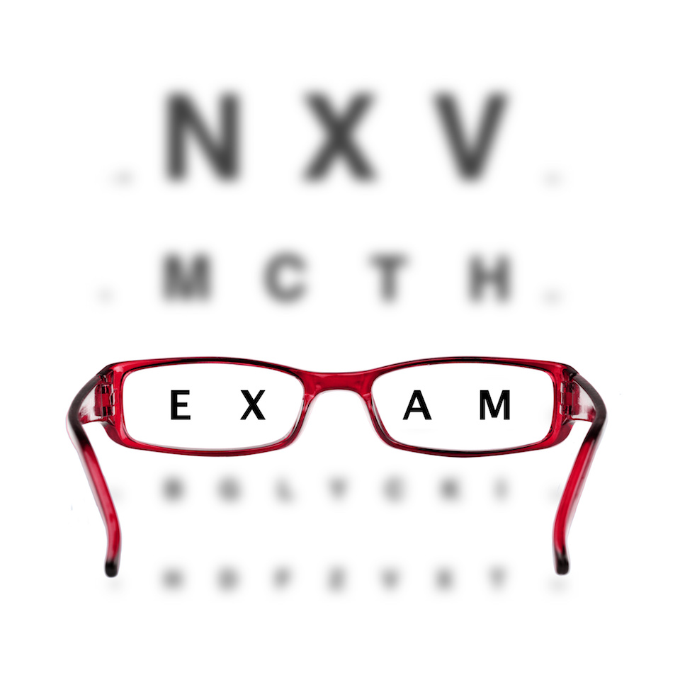 Trust your eyes to an eye doctor, not to an online eye exam